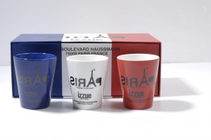 $129法國紅白藍izzue mug