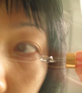 一停了金色眼精我的黑眼圈就回來,又要搞搞