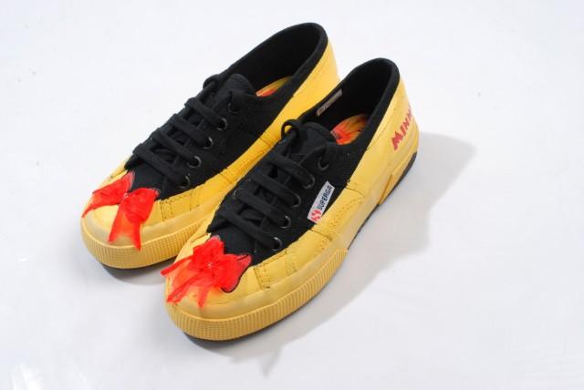 聖誕Jingle Flowers系列米老鼠布鞋,$2400