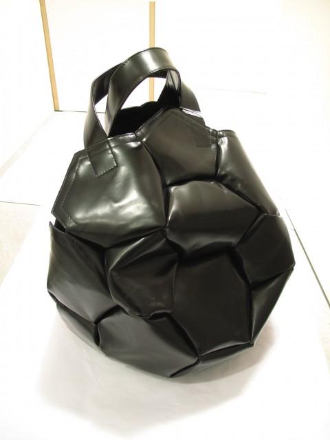 六角形的拼貼足球袋