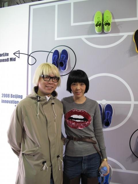 Carl Wong & me