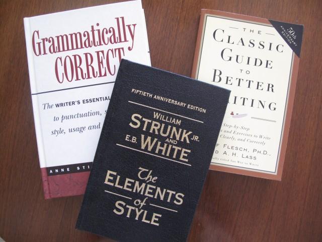 朋友推薦的寫作工具書,《The Elements of Style》是50年經典