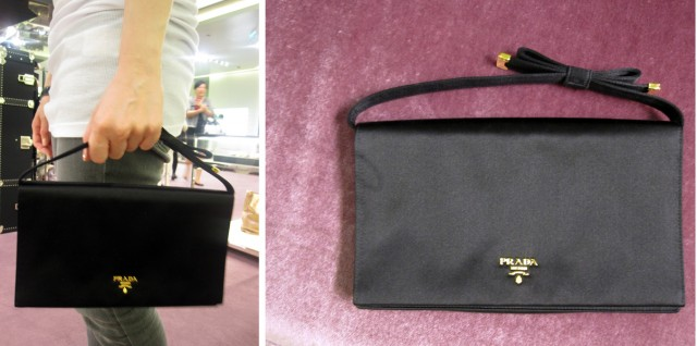 Black Ribbon bag