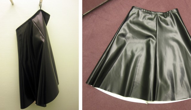 Cire Skirt in shop ( white jersey)