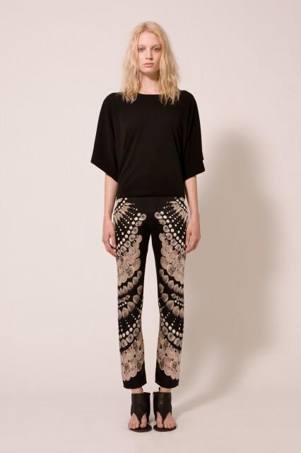 Look 2 print pants