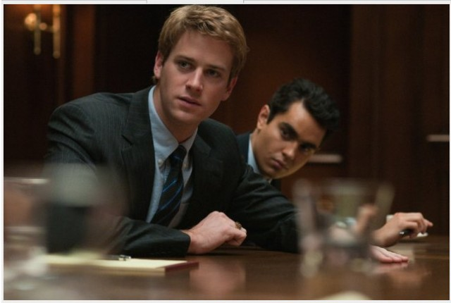 Armie Hammer did all the Winklevoss