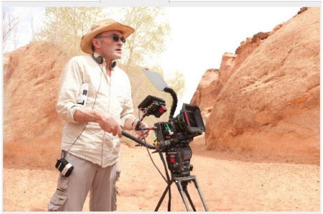 Danny Boyle in the Grand Canyon