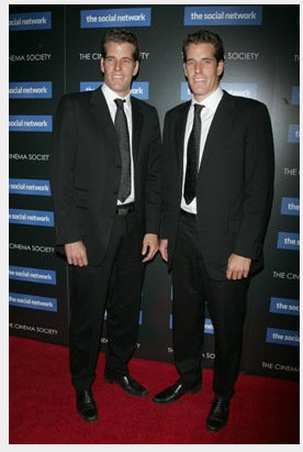 The real Winklevoss twins