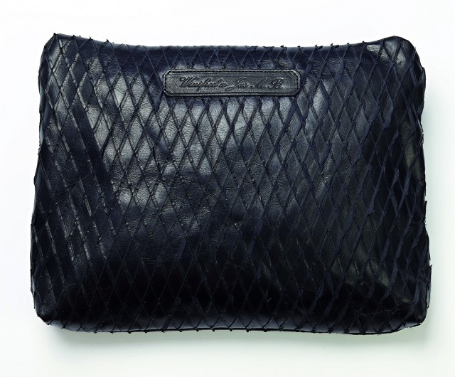 Winifred x JAS M.B.black-scale-shopper $1500, available at Lane Crawford