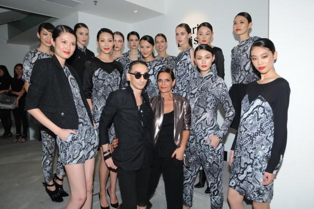 Robin+ Maria Luisa + models