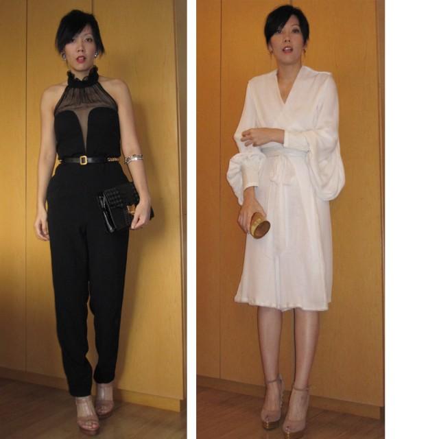 秋冬季的露背YSL jump suit穿了去另一場合/ 非常'Wuxia'的look 31