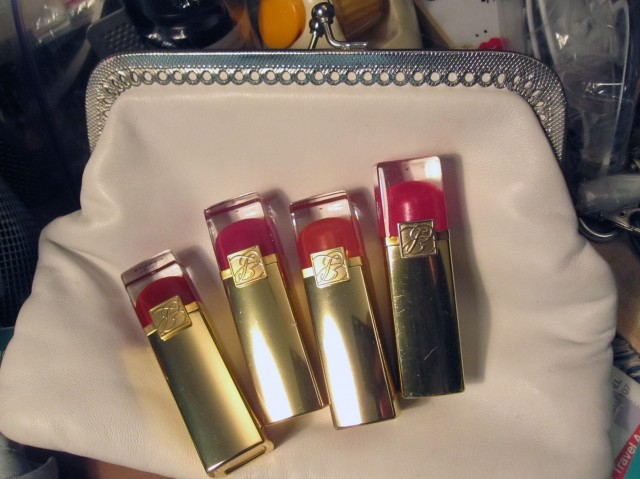 My 4 favourites from Estee Lauder by Tom Pecheux