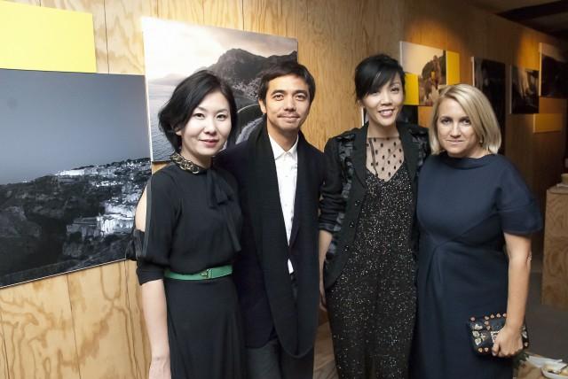 Joey Chan Peter Wong Winifred Lai & Silvia Fendi
