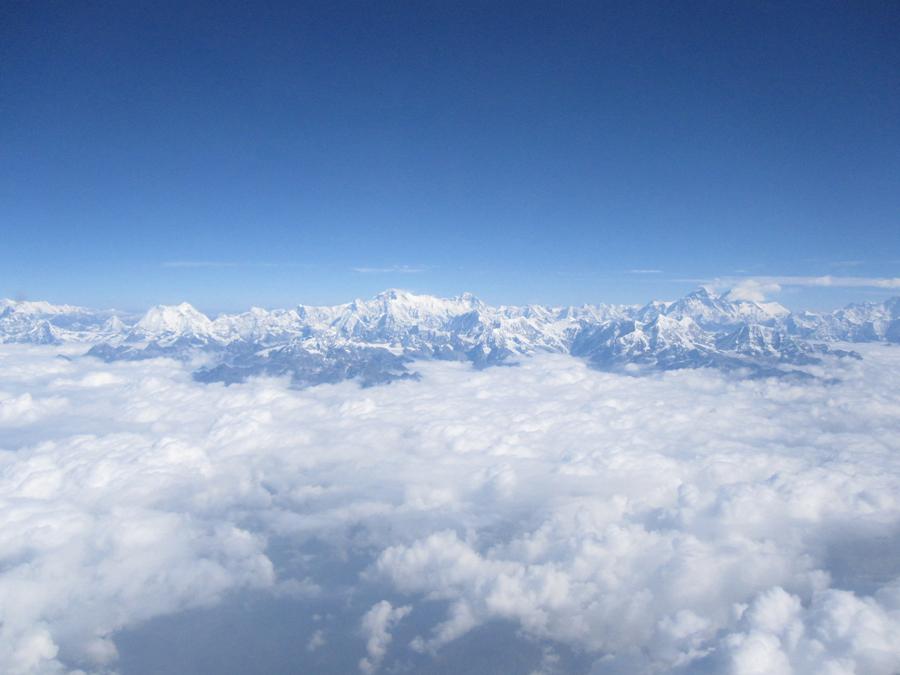 Mt. Everest / Jomoglangma @ Himalayas