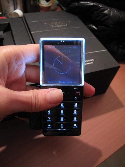 數年前Sony Ericsson的Xperia透明手機Pureness