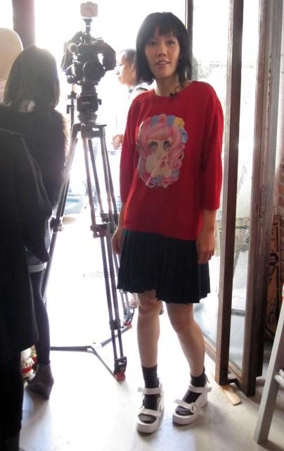 My favourite Jenny Fax dress: manga+ tartan!!!